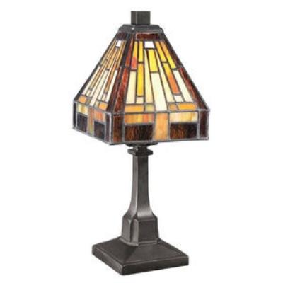 Quoizel Lighting TF1018TVB One Light Desk Lamp