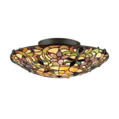 Quoizel Lighting TF1396SVB Kami - Two Light Semi-Flush Mount