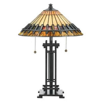 Quoizel Lighting TF489T Tiffany - Two Light Table Lamp