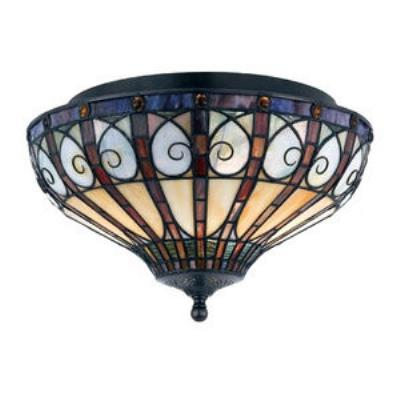 Quoizel Lighting TFAV1714VB Ava - Two Light Medium Flush Mount