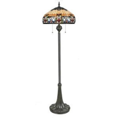Quoizel Lighting TFBF9362VB Belle Fleur - Three Light Floor Lamp
