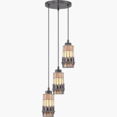 Quoizel Lighting TFCS1510VB Chastain - Three Light Mini Pendant