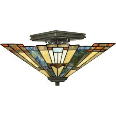 Quoizel Lighting TFIK1714VA Inglenook - Two Light Small Semi Flush Mount