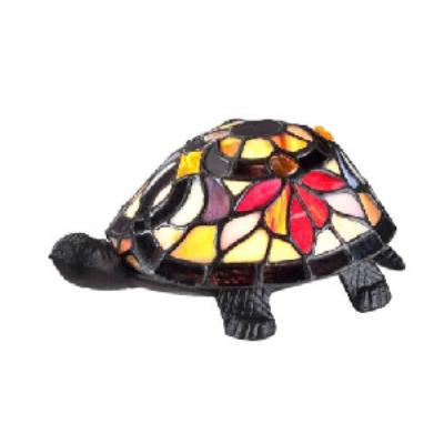 Quoizel Lighting TFX1519T Flower Turtle - One Light Desk Lamp