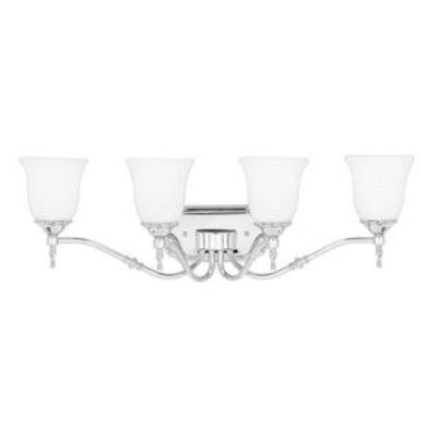 Quoizel Lighting TT8604C Tritan - Four Light Bath Bar