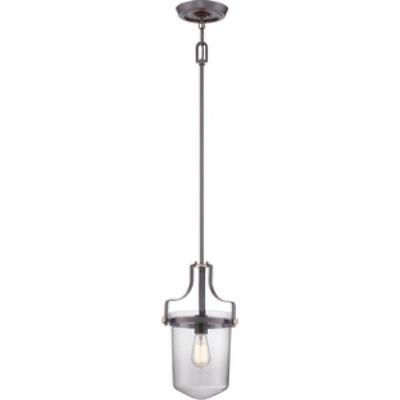 Quoizel Lighting UPPS1510WT Uptown Penn Station - One Light Mini-Pendant