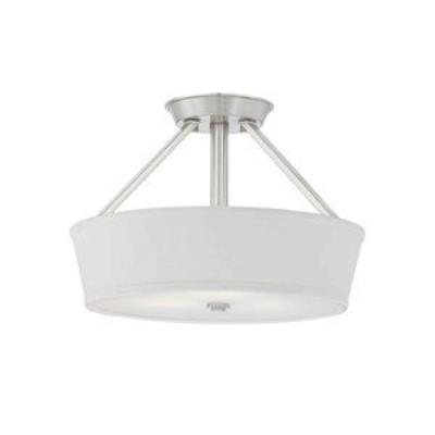 Quoizel Lighting WV1716BN Waverly - Three Light Semi-Flush Mount