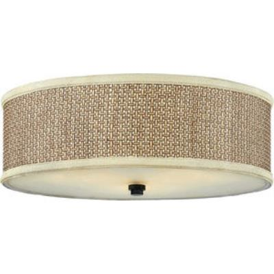 Quoizel Lighting ZE1617K Zen - Three Light Large Flush Mount
