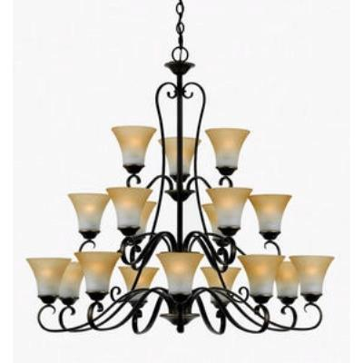 Quoizel Lighting DH5018PN Duchess - Eighteen Light Chandelier