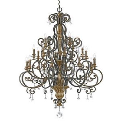 Quoizel Lighting MQ5020HL Marquette - Twenty Light Chandelier
