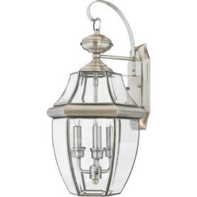 Quoizel Lighting NY8318P Newbury - Three Light Large Wall Lantern