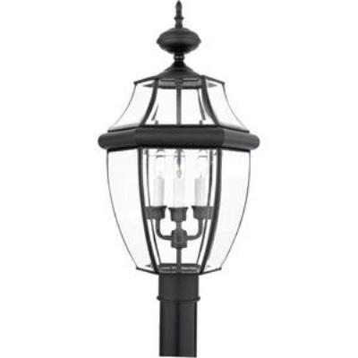 Quoizel Lighting NY9043K Newbury - Three Light Large Post Lantern