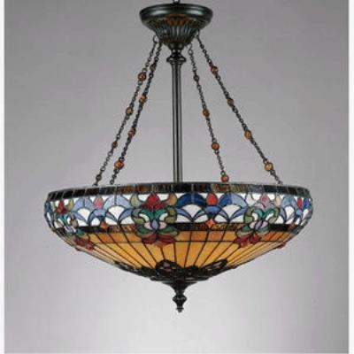 Quoizel Lighting TF1781VB Belle Fleur - Four Light Pendant