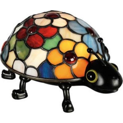 Quoizel Lighting TF6031VB Flowered Lady Bug - One Light Tiffany Accent Figure