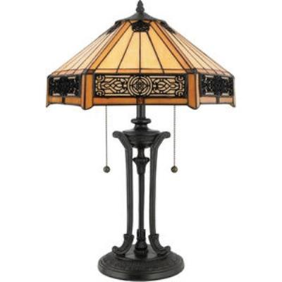 Quoizel Lighting TF6669VB Indus - Two Light Table Lamp
