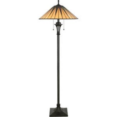 Quoizel Lighting TF9397VB Gotham - Two Light Floor Lamp