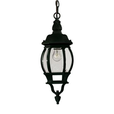 Savoy House 07095-BLK One Light Outdoor Hanging Lantern
