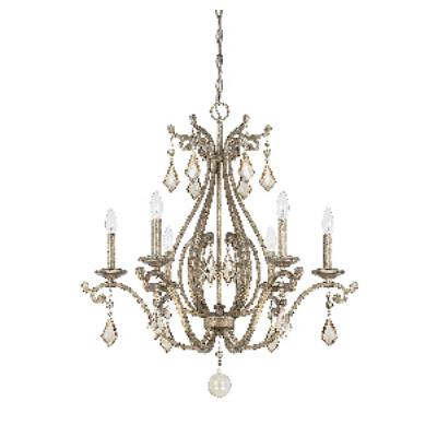 Savoy House 1-8100-6-128 Rothchild - Six Light Chandelier