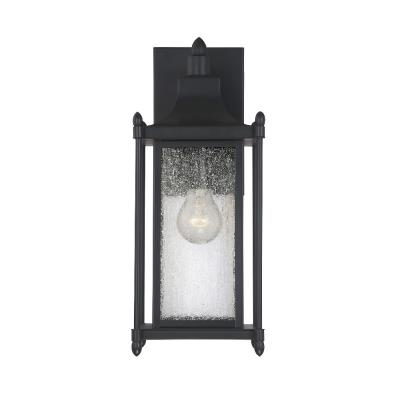 Savoy House 5-3451-BK Dunnmore - One Light Outdoor Wall Lantern
