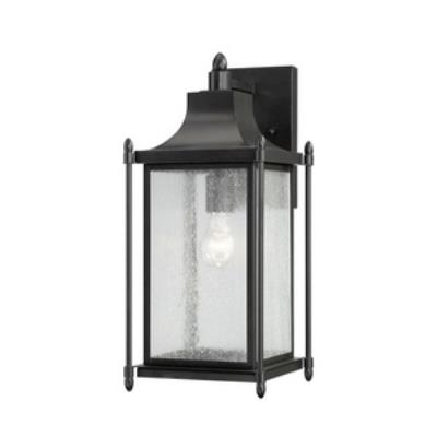 Savoy House 5-3452-BK Dunnmore - One Light Outdoor Wall Lantern