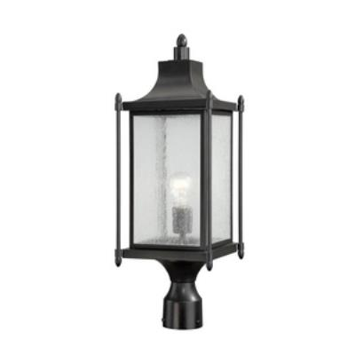 Savoy House 5-3454-BK Dunnmore - One Light Post Mount Lantern