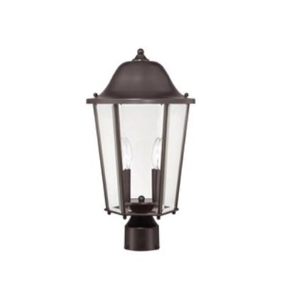 Savoy House 5-6214-13 Truscott - Two Light Outdoor Post Lantern