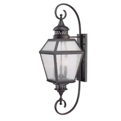 Savoy House 5-774-13 Chimnea - Three Light Outdoor Wall Lantern
