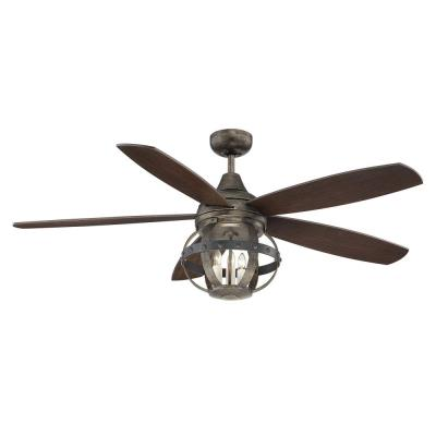 "Savoy House 52-840-5CN-196 Alsace - 52"" Ceiling Fan"