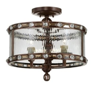 Savoy House 6-6032-3-131 Paragon - Three Light Semi-Flush Mount