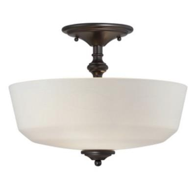 Savoy House 6-6835-2-13 Melrose - Two Light Semi-Flush Mount