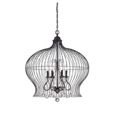 Savoy House 7-6100-6-17 Birdcage - Six Light Pendant