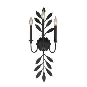 Trumpet - Three Light Wall Sconce
