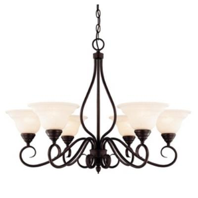 Savoy House KP-104-6 Oxford - Six Light Chandelier