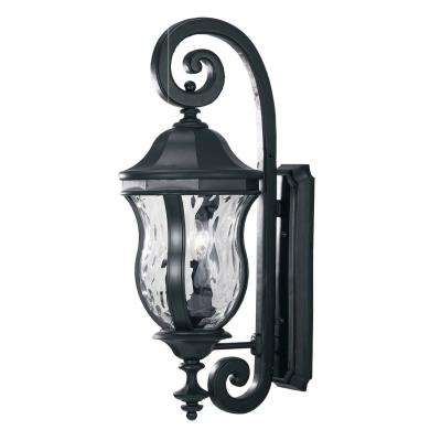 Savoy House KP-5-300-BK Monticello - Three Light Outdoor Wall Lantern