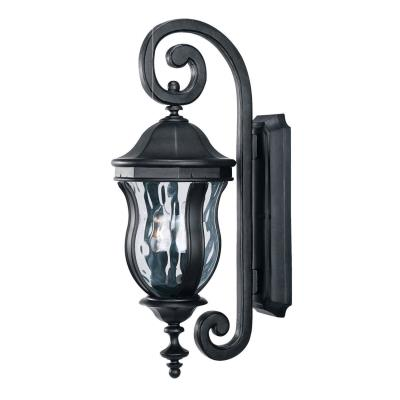 Savoy House KP-5-305-BK Monticello - Two Light Outdoor Wall Lantern
