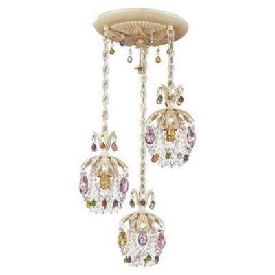 Schonbek Lighting 1257 Rondelle - Three Light Mini Chandelier