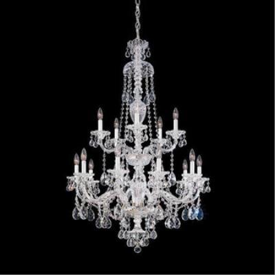 Schonbek Lighting 3608 Sterling - Fifteen Light Two Tier Chandelier