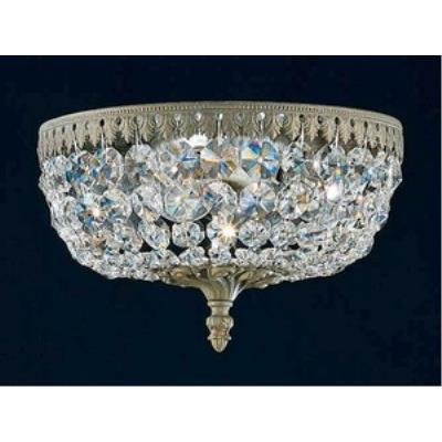 Schonbek Lighting 5040 Rialto - Four Light Flush Mount
