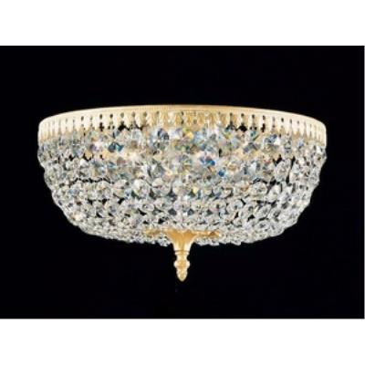 Schonbek Lighting 5044 Rialto - Six Light Flush Mount