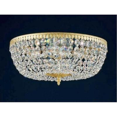 Schonbek Lighting 5048 Rialto - Five Light Flush Mount