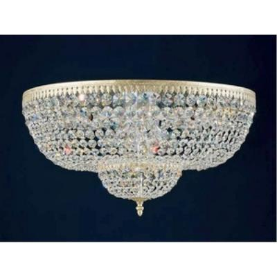 Schonbek Lighting 5054 Rialto - Ten Light Flush Mount