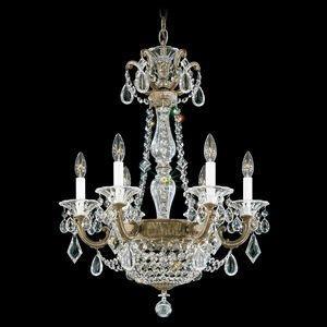 La Scala Empire - Six Light Chandelier