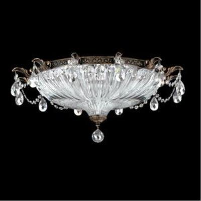 Schonbek Lighting 5635 Milano - Four Light Flush Mount