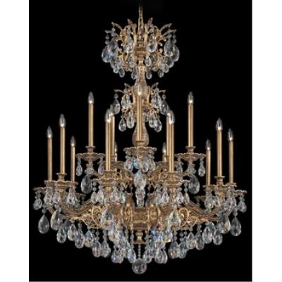 Schonbek Lighting 5686 Milano - Fifteen Light Chandelier