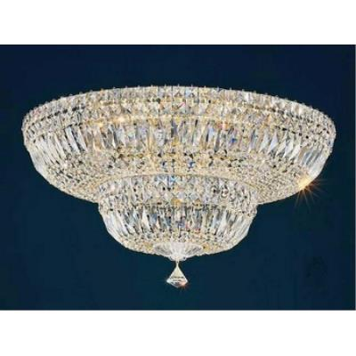 Schonbek Lighting 5895 Petit Deluxe - Thirteen Light Flush Mount