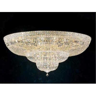 Schonbek Lighting 5897 Petit Deluxe - Thirty-Six Light Flush Mount