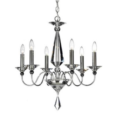 Schonbek Lighting 9676 Jasmine - Six Light Chandelier