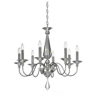 Schonbek Lighting 9678 Jasmine - Eight Light Chandelier
