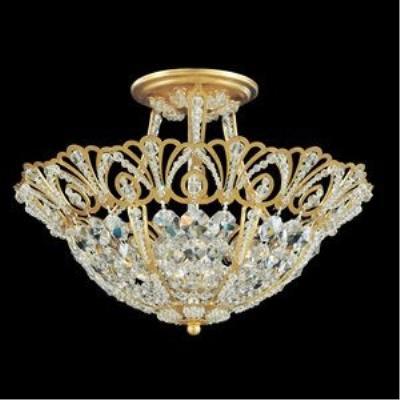 Schonbek Lighting 9841 Tiara - Four Light Semi-Flush Mount