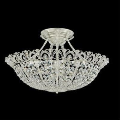 Schonbek Lighting 9845 Tiara - Seventeen Light Semi-Flush Mount